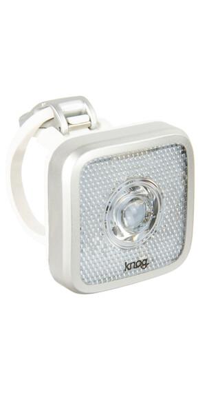 Knog Blinder MOB Eyeballer Faretto LED bianco argento
